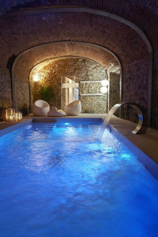 23 amazing indoor pools to enjoy swimming at any time for How to build an indoor pool