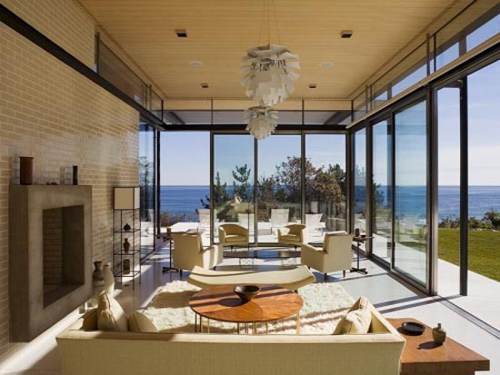 Amazing Living Room Surrounded By Views