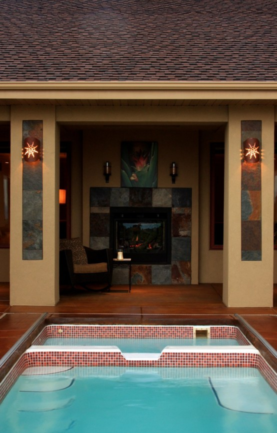 15 amazing poolside area designs digsdigs for Pool design kg