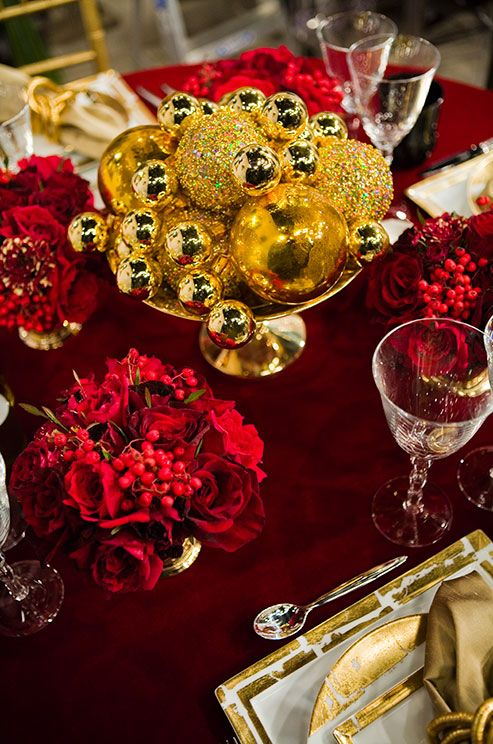 Christmas Dinner Table Decoration Ideas