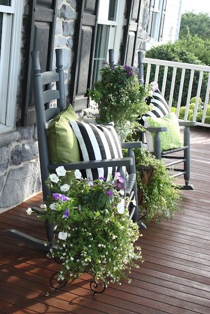 How to Spruce Up Your Porch For Spring: 31 Ideas - DigsDigs