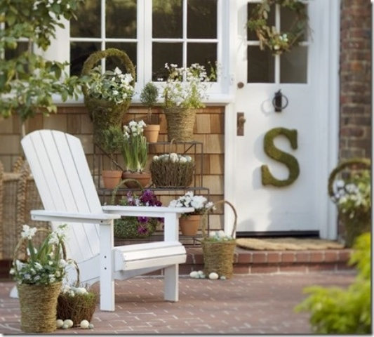 Pottery Barn Porch Ideas For Spring: How To Spruce Up Your Porch For Spring: 31 Ideas