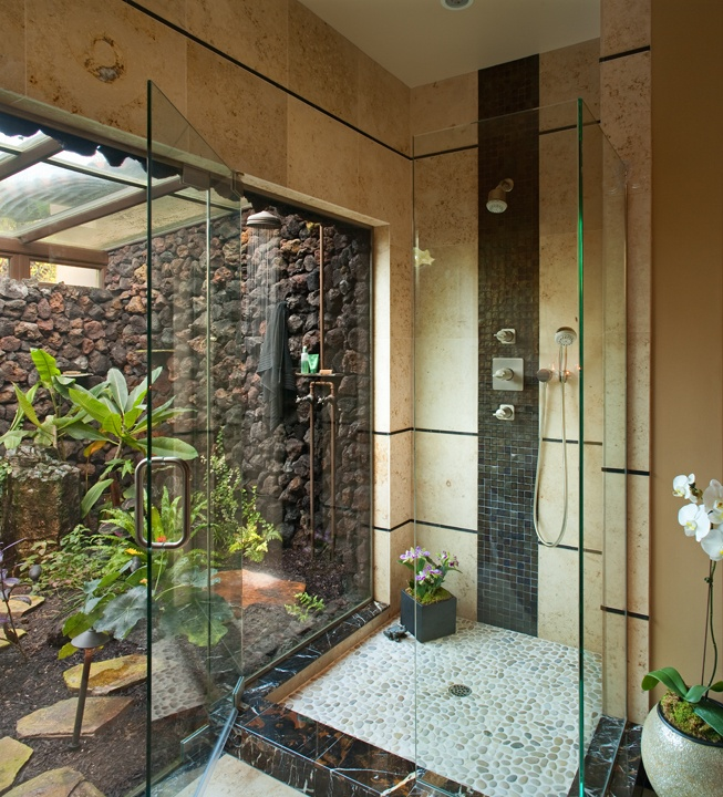 Home Design Ideas Cozy: 42 Amazing Tropical Bathroom Décor Ideas