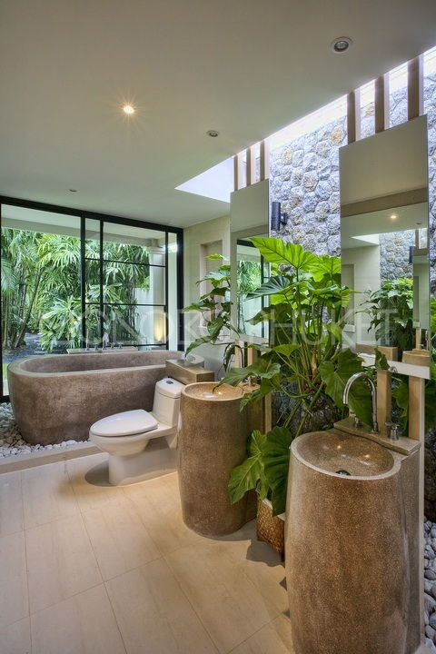 Bon Amazing Tropical Bathroom Decor Ideas