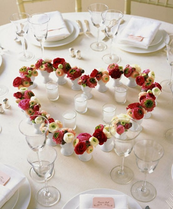 22 Amazing Valentine's Day Centerpieces