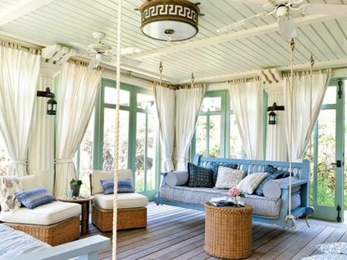 An Amazing Sunroom Porch