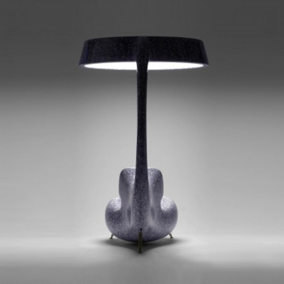 Anglerfish Chair With A Big Lamp DigsDigs - Anglerfish chair with a big lamp