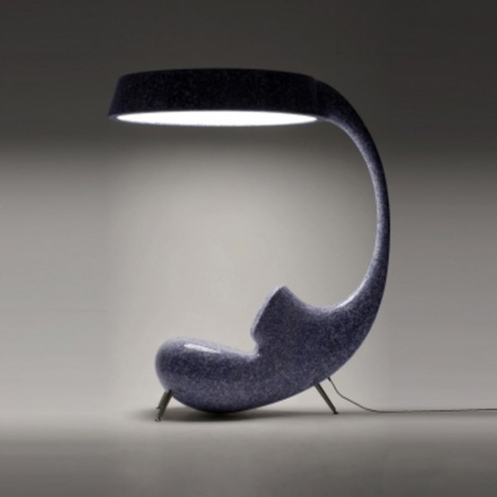 Anglerfish Chair With A Big Lamp