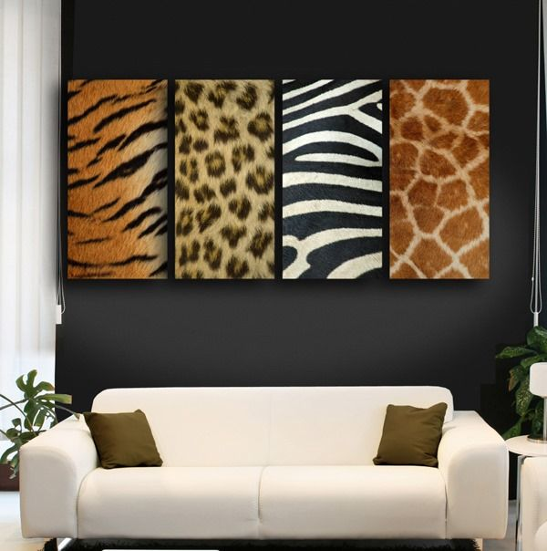 25 ideas to use animal prints in home d cor digsdigs. Black Bedroom Furniture Sets. Home Design Ideas