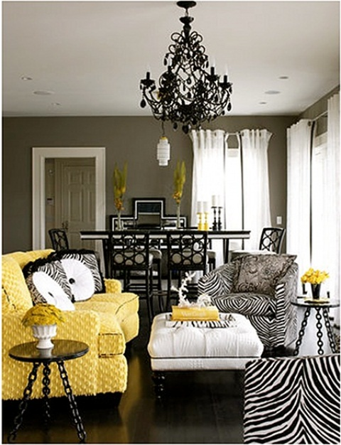 Animal Prints In Home Decor
