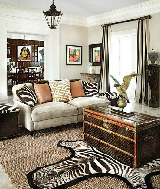 Zebra Rug Interior Design: 25 Ideas To Use Animal Prints In Home Décor