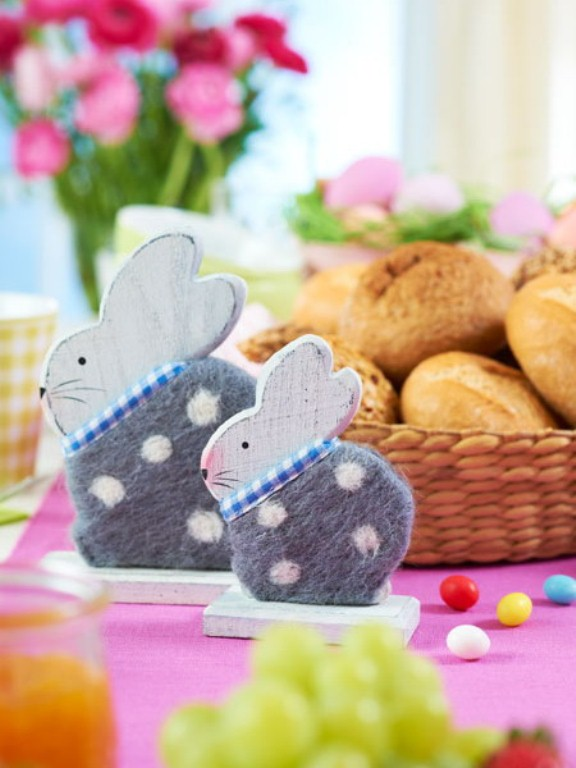 12 animals decor ideas for your easter digsdigs for Animals decoration