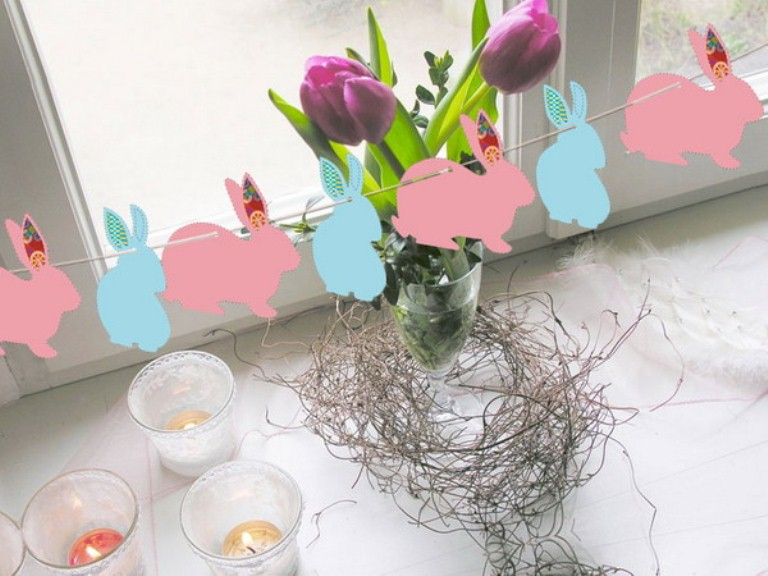 12 animals decor ideas for your easter digsdigs for Easter home decorations