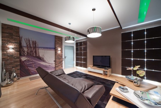 Apartment Interior Design That Gives Feeling of Living on the Coast
