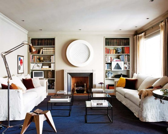 Apartment Designed In A Fusion Of Styles
