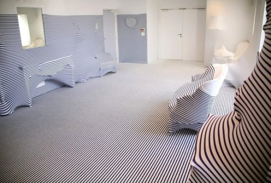 Crazy Apartment Interior Design of Fashion Designer
