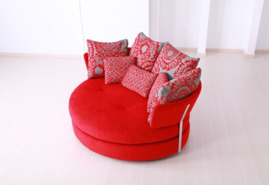 Comfy Sofa Inspired By An Apple