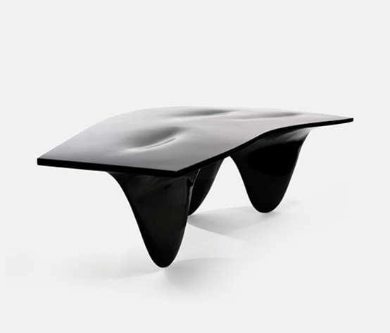 Iconic Contemporary Table with Sleek Deisng – Aqua Table by Zaha Hadid