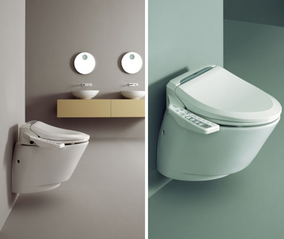 5 hi tech toilets and toilet seat covers digsdigs for New washroom designs