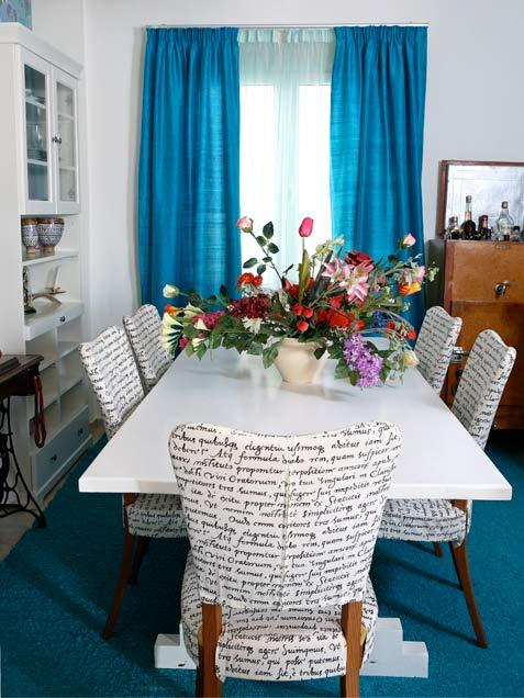 Aquamarine Dining Room