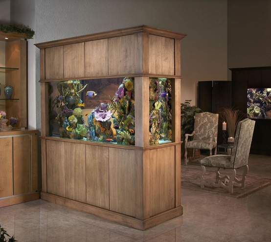 55 original aquariums in home interiors digsdigs for Aquarium interior designs pictures