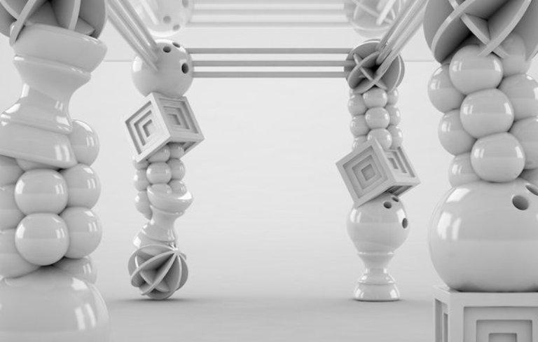 Art Deco Dinig Table With Unusual Legs