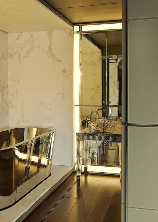 15 art deco bathroom designs to inspire your relaxing - Art deco decorating ideas ...