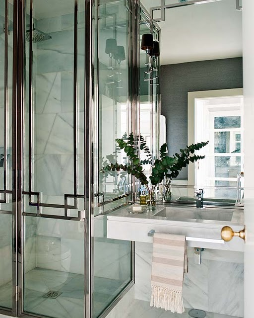 15 art deco bathroom designs to inspire your relaxing for Art deco interior design