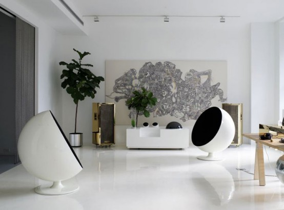Artist Contemporary House Interior Part 41