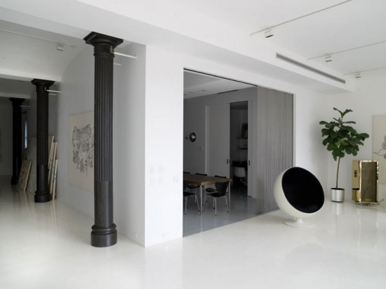 Artist Contemporary House Interior