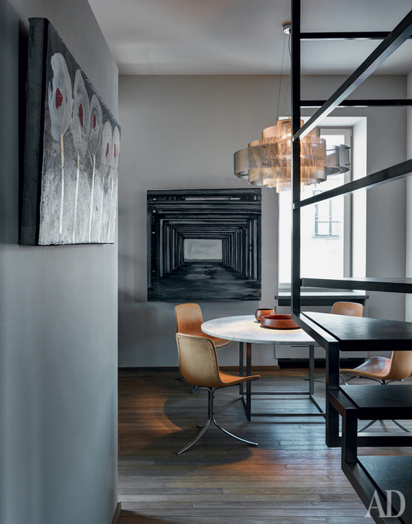 Ascetic Masculine Apartment With Luxury Touches