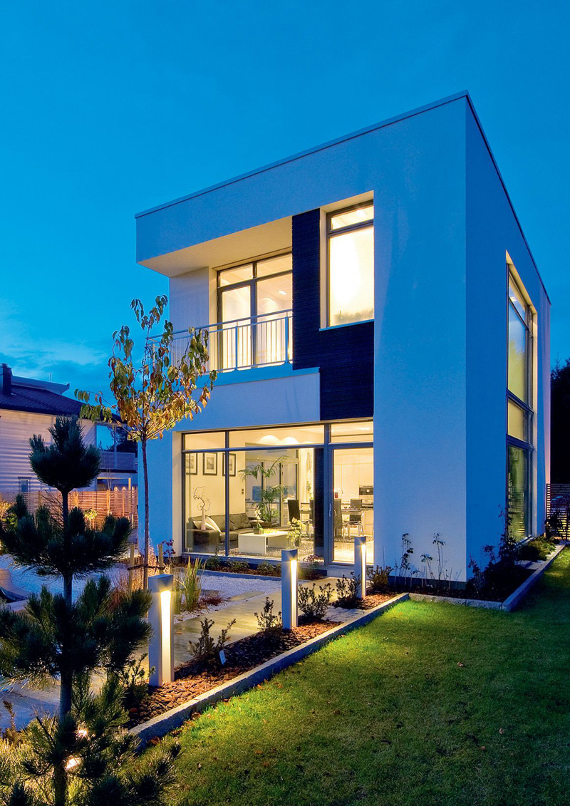 Asian inspired modern nordic home with luxury touches digsdigs Home building architecture