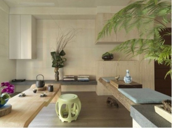 Asian Style Apartment With Perfect Harmony And Cozy Atmosphere