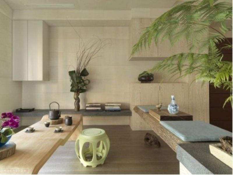 asian style apartment with perfect harmony and cozy