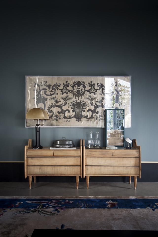 Picture Of atmospheric milan home full of unique furniture  1