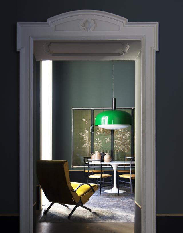 Picture Of atmospheric milan home full of unique furniture  3