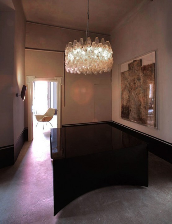 Atmospheric Milan Home Full Of Unique Furniture