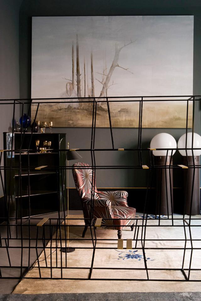 Picture Of atmospheric milan home full of unique furniture  7