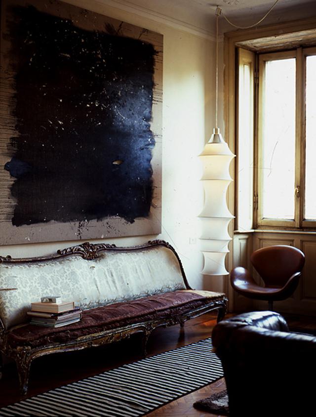 Picture Of atmospheric milan home full of unique furniture  8
