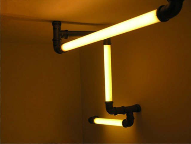 Atomic Lighting Tubes For Industrial Design Digsdigs