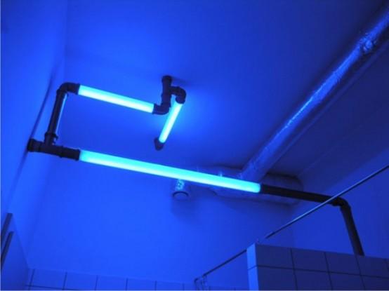 Atomic Lighting Tubes For Industrial Design