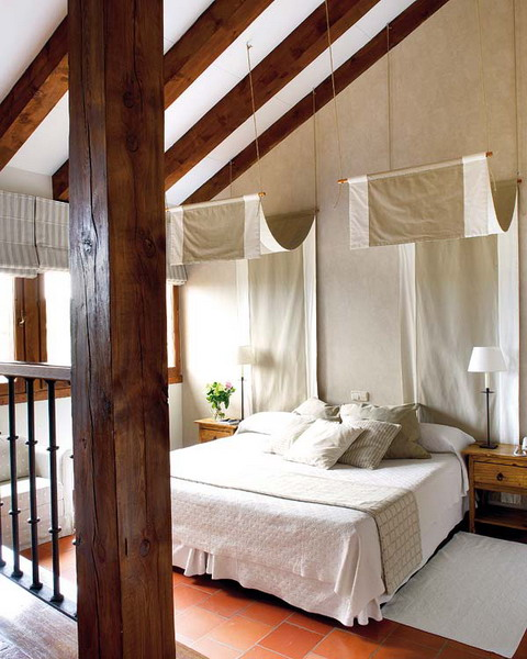 50 attic bedroom design inspirations digsdigs for Attic room decoration