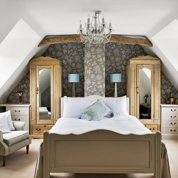50 attic bedroom design inspirations digsdigs