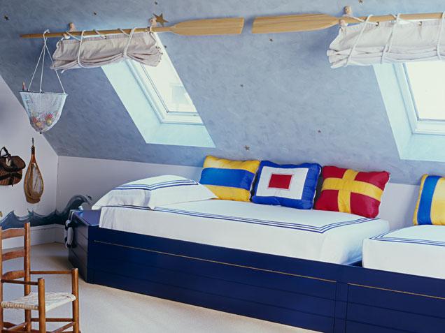 Boys Attic Bedroom Ideas