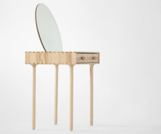 Avignon No.2 Dressing Table Inspired By Geometric Shapes