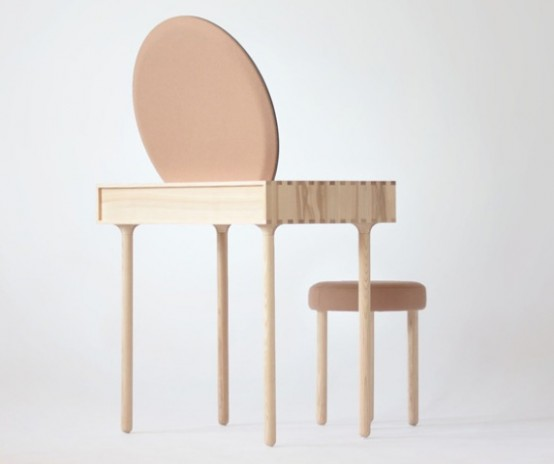 Avignon No2 Dressing Table Inspired By The Geometric Shapes