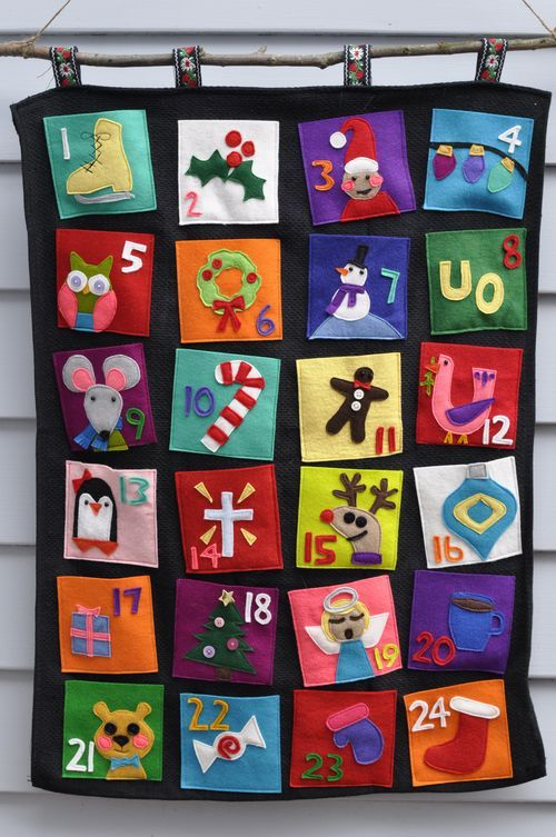 Creative Handmade Calendar Ideas : Awesome and creative christmas advent calendars digsdigs