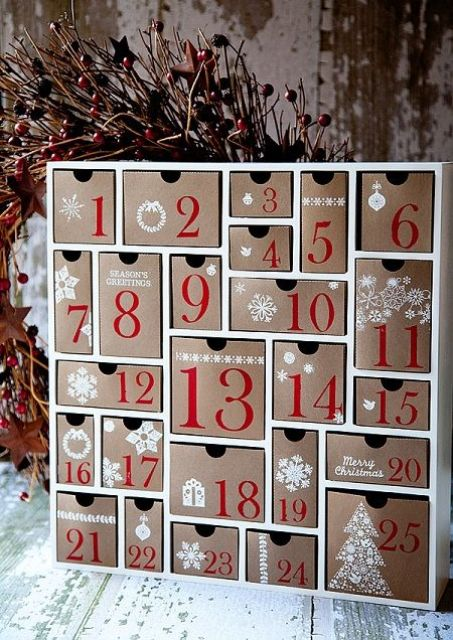 Awesome And Creative Christmas Advent Calendars