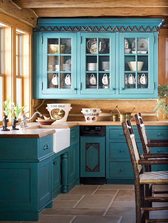 17 Awesome Bold Décor Ideas For Small Kitchens - DigsDigs - photo#12