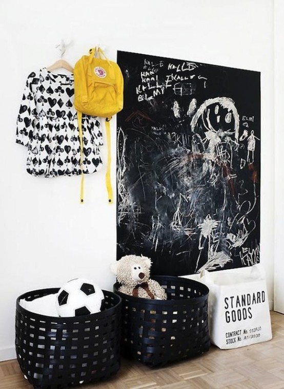 33 Awesome Chalkboard D 233 Cor Ideas For Kids Rooms Digsdigs